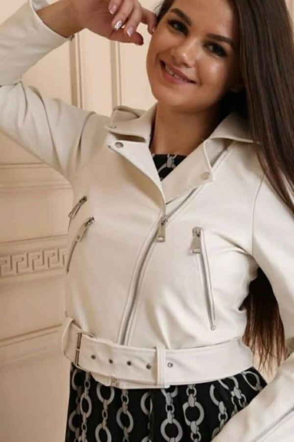 خرید اینترنتی کاپشن چرم دخترانه از استانبول برند La Villa Moda کد ty52803907