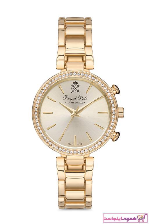 فروش ساعت دخترانه فانتزی برند Royal Club De Polo Barcelona رنگ طلایی ty52932676