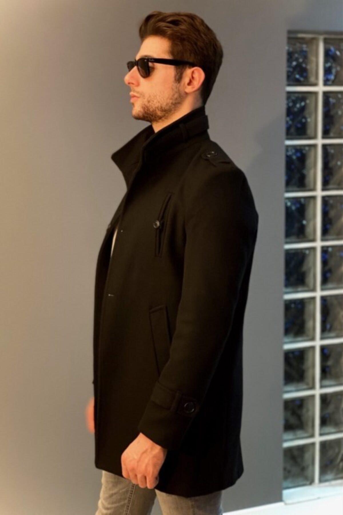 خرید پالتو 2020 مردانه برند Jaglion رنگ مشکی کد ty53559299