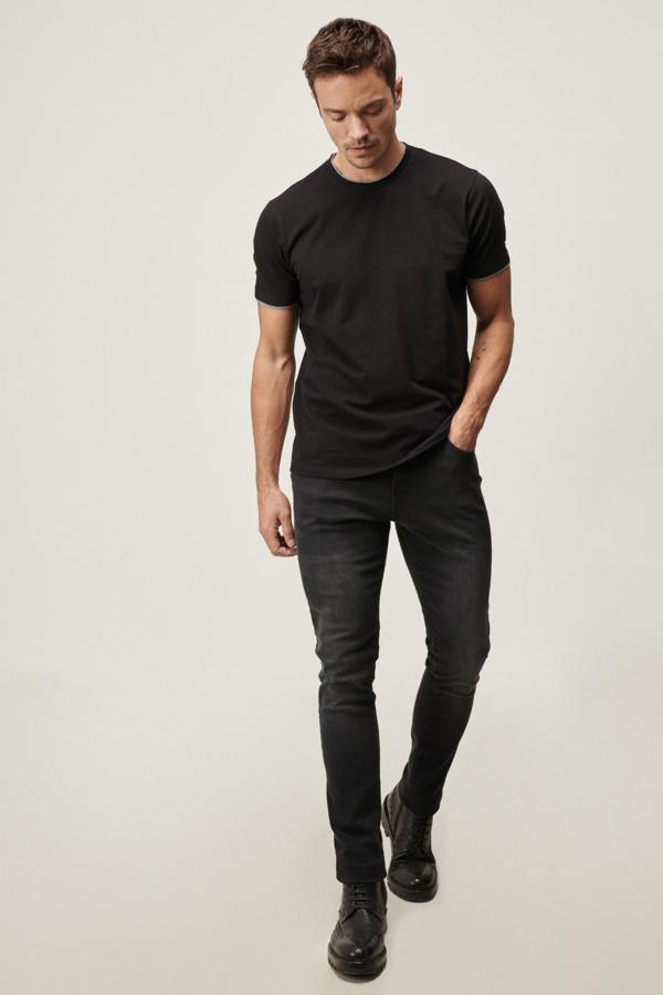 خرید نقدی شلوار جین پاییزی مردانه برند ALTINYILDIZ CLASSICS رنگ نقره ای کد ty53559591