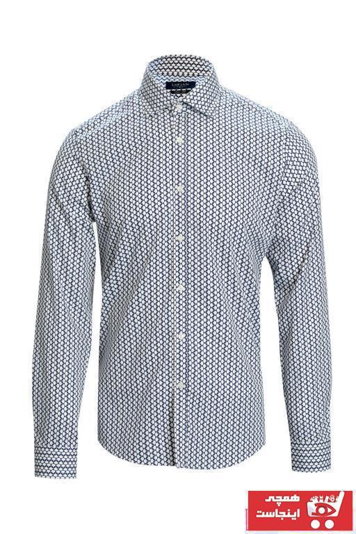 ست پیراهن مردانه برند Lufian رنگ لاجوردی کد ty54087716