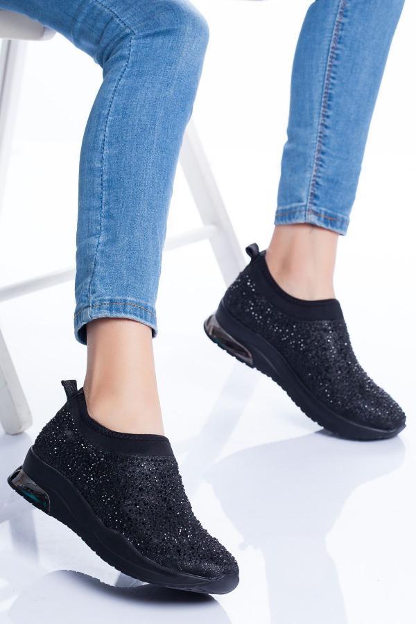 فروش اینترنتی اسپرت زنانه با قیمت برند Ayakkabı Frekansı رنگ مشکی کد ty54524720