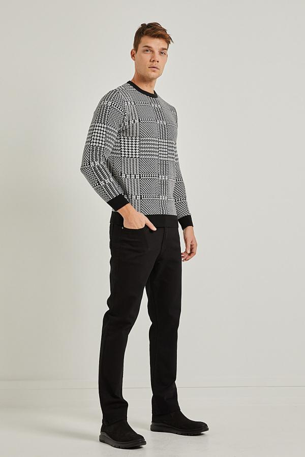 شلوار جین مردانه فروش برند PAULMARK رنگ مشکی کد ty54580826