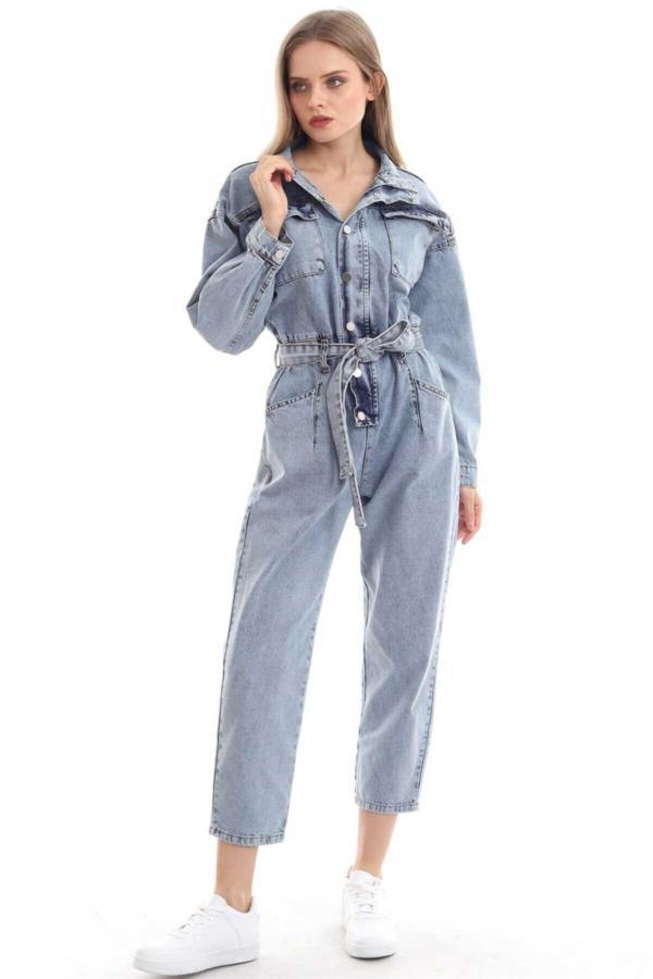 فروش تولوم زنانه شیک و جدید برند Elbee رنگ آبی کد ty54595028