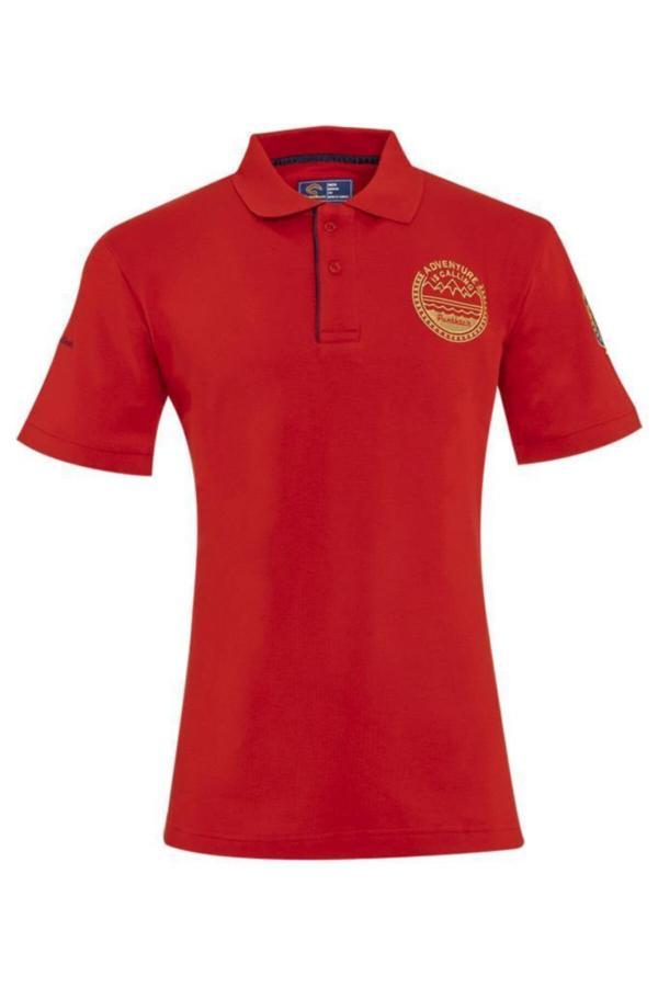خرید نقدی تی شرت مردانه ترک برند Panthzer رنگ قرمز ty54608080