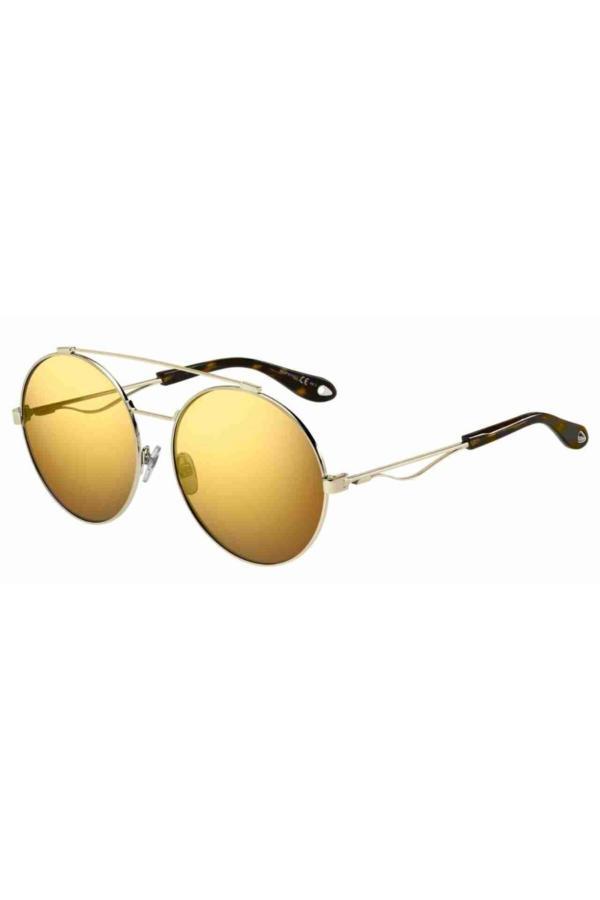 فروش عینک آفتابی زنانه جدید برند Givenchy رنگ طلایی ty54619048