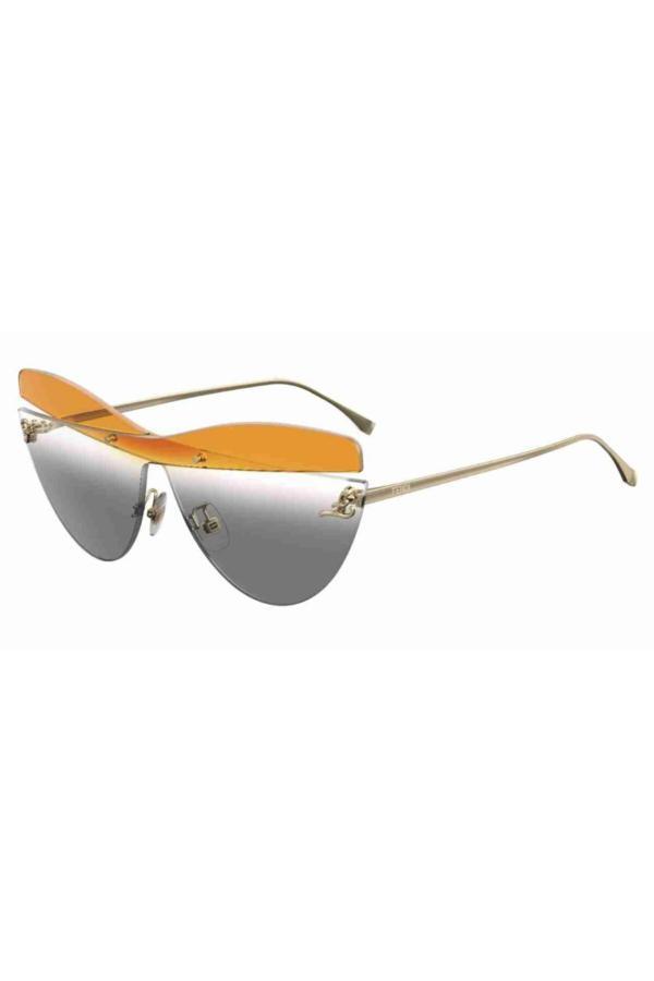 عینک آفتابی 2020 زنانه برند Fendi رنگ طلایی ty54619100