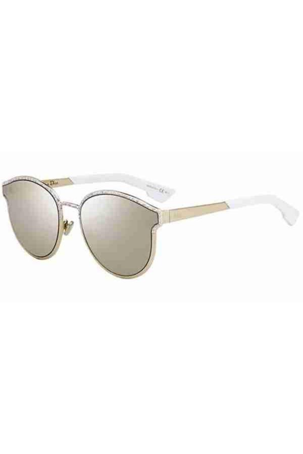 خرید عینک آفتابی زنانه شیک برند Christian Dior رنگ طلایی ty54619946