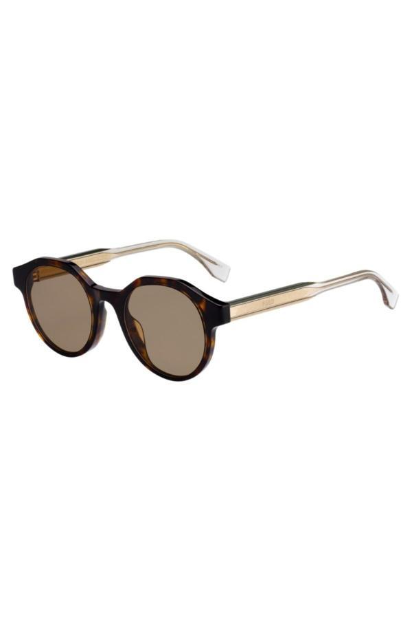 عینک آفتابی مردانه سال ۹۹ برند Fendi رنگ قهوه ای کد ty54629799