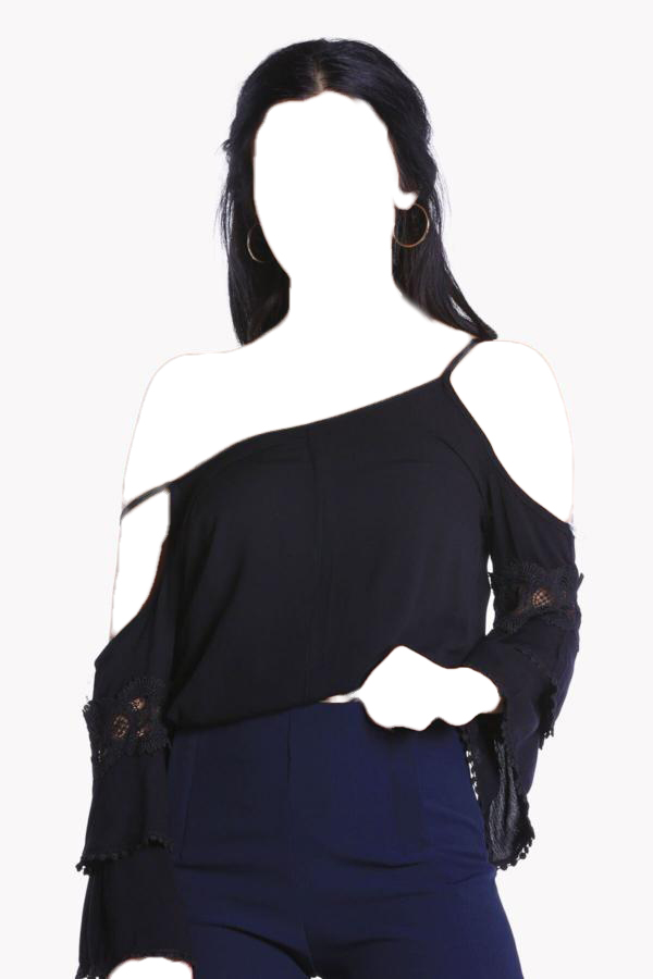شومیز زنانه برند FİLELİ رنگ مشکی کد ty54677857