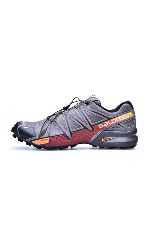 فروش پستی کفش کوهنوردی مردانه شیک جدید برند Salomon رنگ نقره ای کد ty54681990