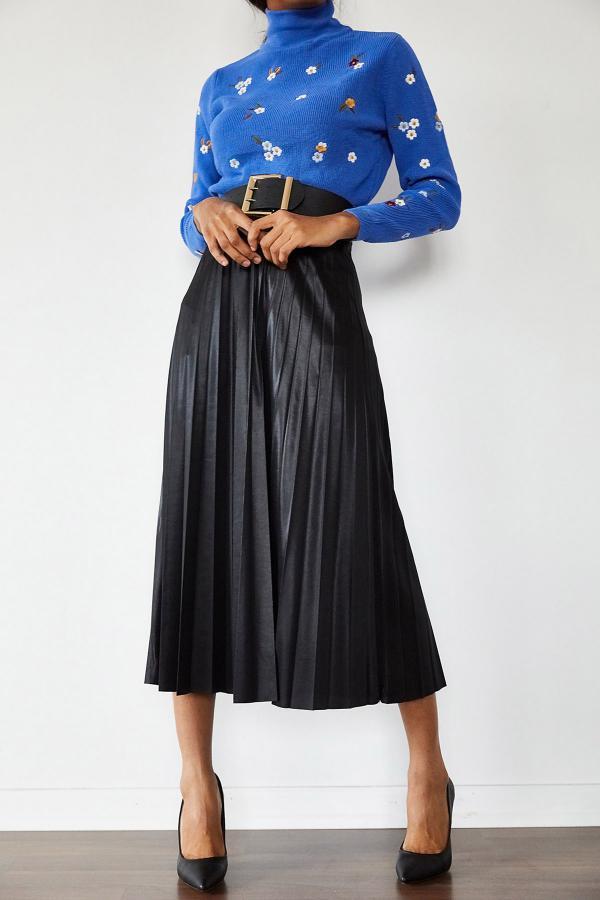 دامن زنانه اسپرت جدید برند XENA رنگ مشکی کد ty54709796