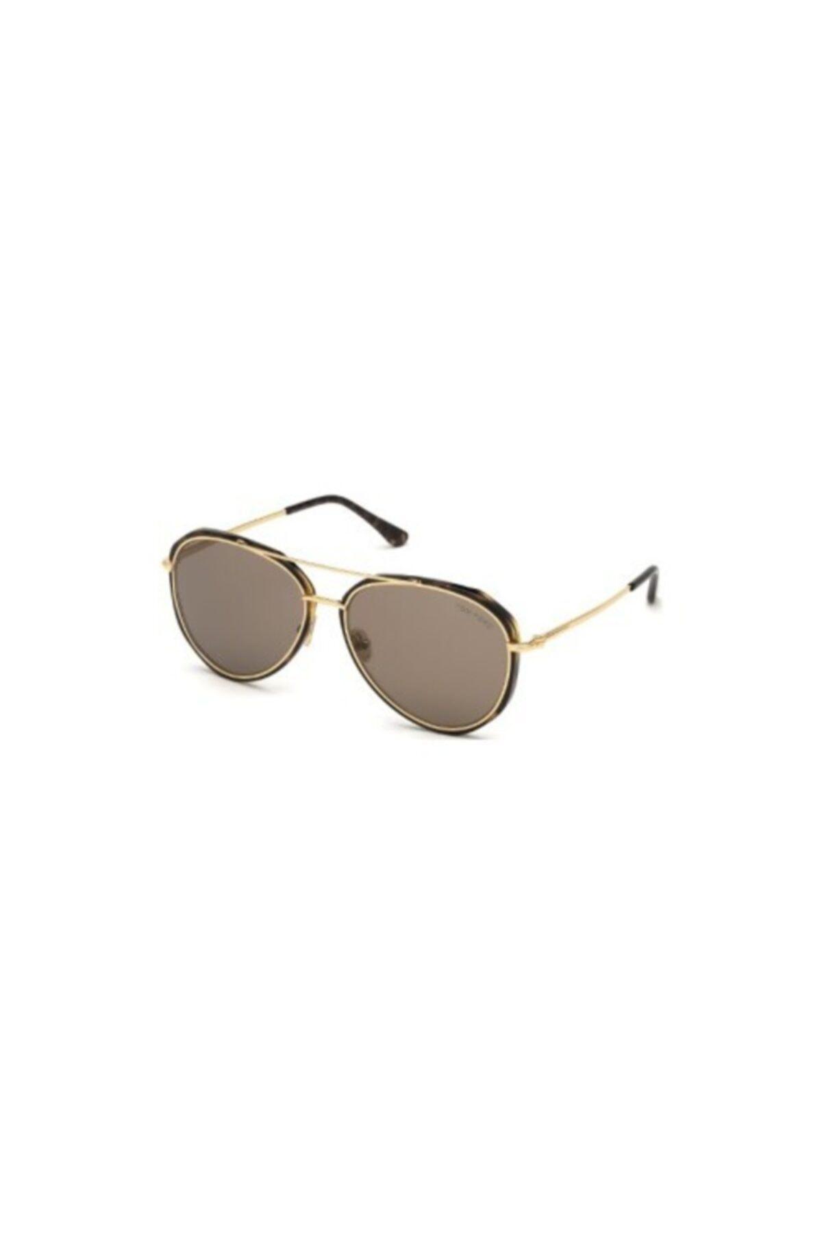 سفارش عینک آفتابی زمستانی مردانه برند Tom Ford رنگ متالیک کد ty54736933