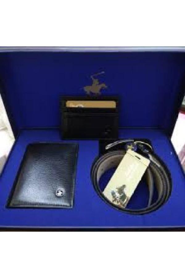 خرید اینترنتی کمربند شیک برند Yorkshire Polo Club رنگ مشکی کد ty54772989