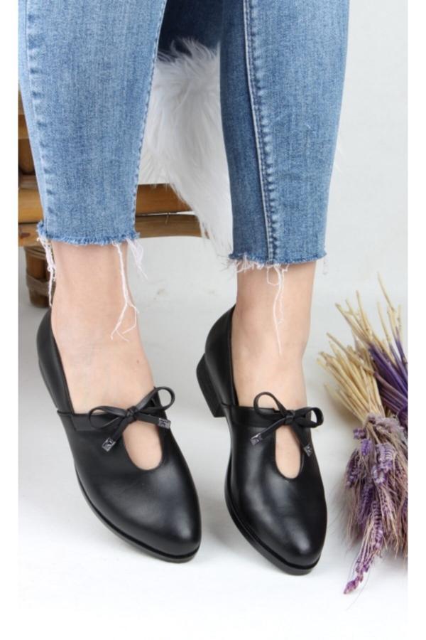 فروشگاه کفش تخت زنانه اینترنتی برند LİLA SHOES رنگ مشکی کد ty54789035