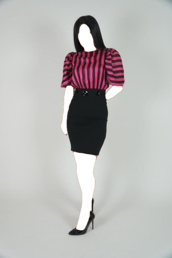 پیراهن 2020 زنانه برند Lila Rose رنگ صورتی ty54807262