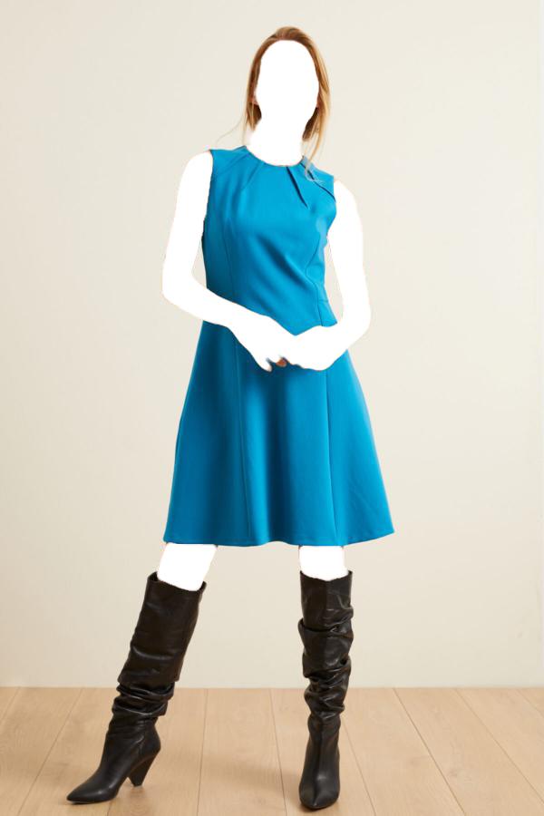 خرید انلاین پیراهن جدید زنانه شیک برند adL رنگ آبی کد ty54807843