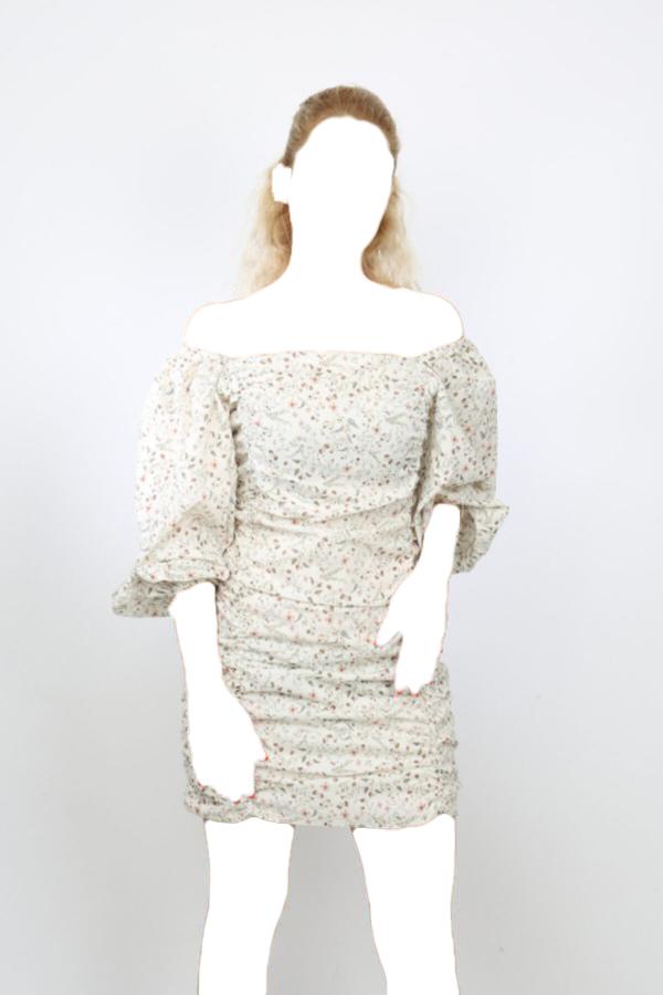 پیراهن زمستانی زنانه برند İNSUEL رنگ بژ کد ty54809262