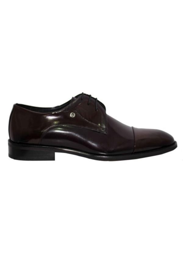 کفش کلاسیک مردانه قیمت مناسب برند پیرکاردین رنگ زرشکی ty54809401