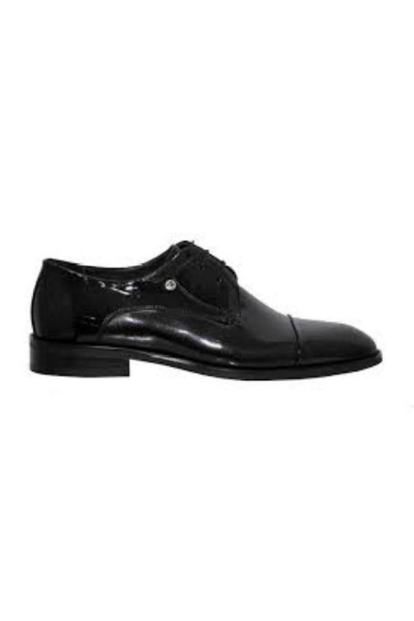 خرید مستقیم کفش کلاسیک جدید برند پیرکاردین رنگ مشکی کد ty54810090