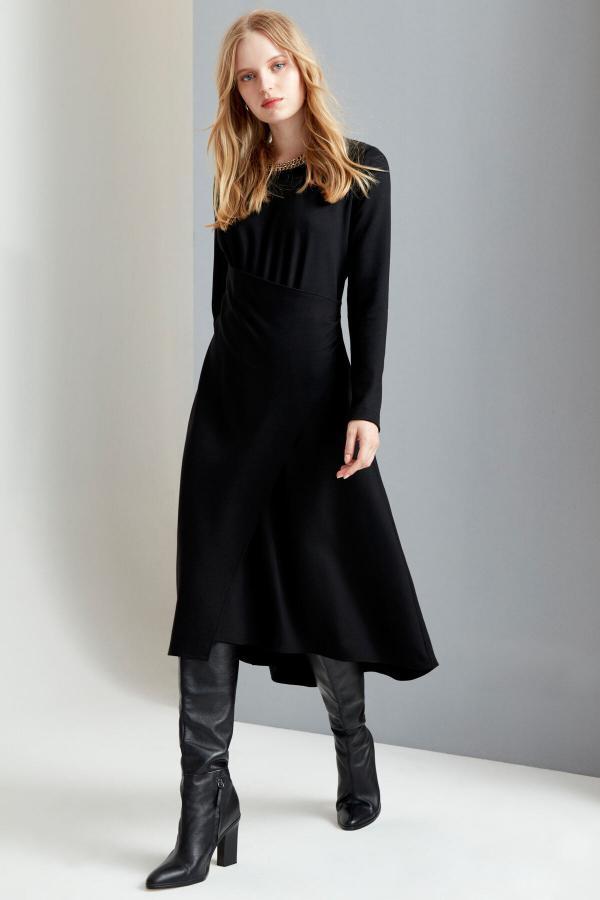 فروش پیراهن زنانه شیک و جدید برند FEVER رنگ مشکی کد ty54811126