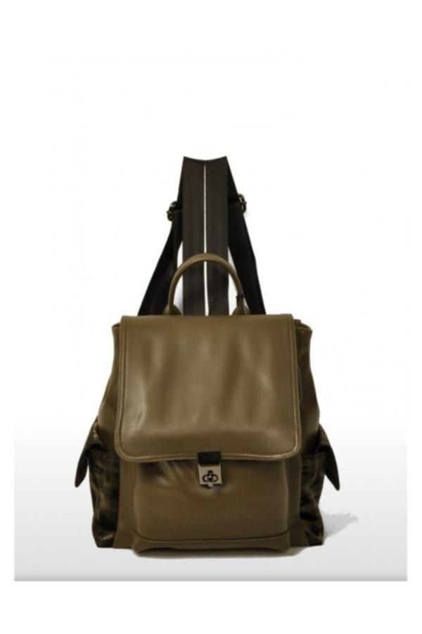 فروش کوله پشتی زنانه اصل و جدید برند Butik Nova رنگ خاکی کد ty54812743