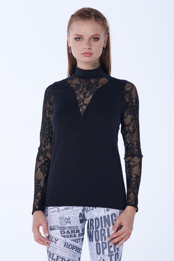 خرید انلاین بلوز زیبا زنانه برند TrAir رنگ مشکی کد ty54813662