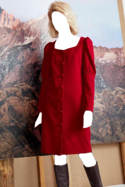 خرید انلاین پیراهن زنانه ترکیه برند FEVER رنگ قرمز ty54814231