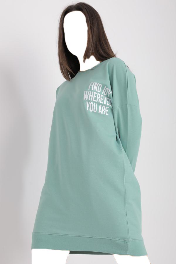 تونیک زنانه خاص برند Milanoor رنگ سبز کد ty54814316