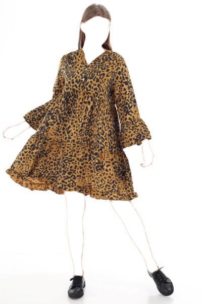 پیراهن زنانه قیمت برند Luısıdo رنگ زرد ty54814391