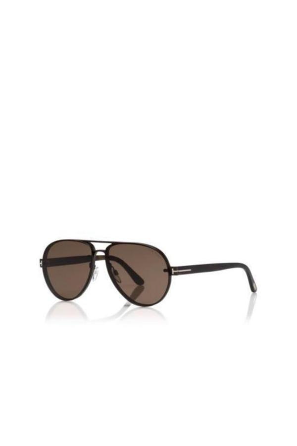 خرید نقدی عینک آفتابی مردانه ترک  برند Tom Ford رنگ قهوه ای کد ty54896618
