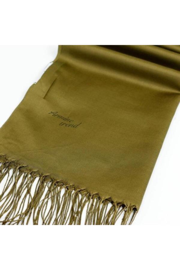 شال زنانه ارزان برند Armine TREND رنگ خاکی کد ty54902304