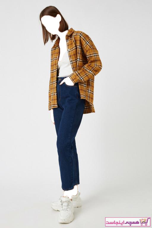 فروش اینترنتی شلوار جین زنانه با قیمت برند کوتون رنگ آبی کد ty55081510