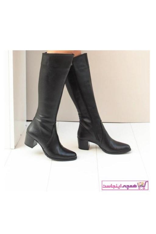 خرید چکمه زنانه ست برند Fox Shoes رنگ مشکی کد ty55340