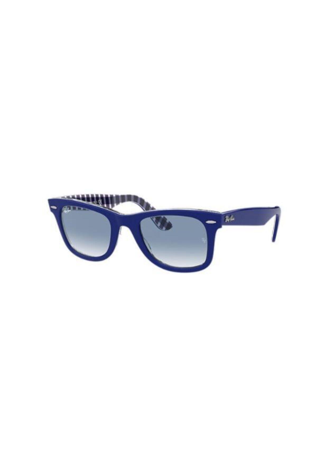 عینک آفتابی 2020 مردانه برند ری بن رنگ آبی کد ty56267160