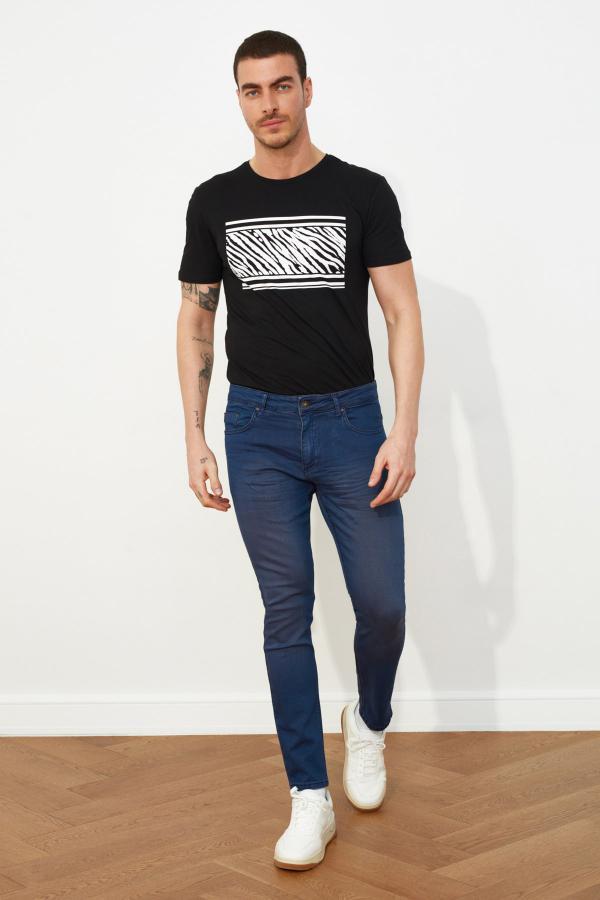 خرید شلوار جین از ترکیه برند ترندیول مرد رنگ آبی کد ty56327319