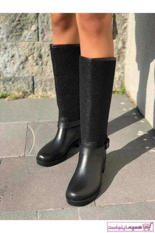 خرید پستی چکمه زنانه برند wolk shoes رنگ مشکی کد ty56330762
