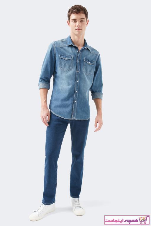 شلوار جین مردانه شیک برند ماوی رنگ آبی کد ty57149816