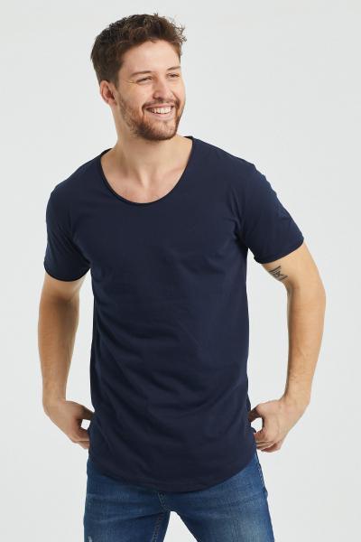 خرید نقدی تی شرت مردانه ترک برند Tarz Cool رنگ لاجوردی کد ty57183049