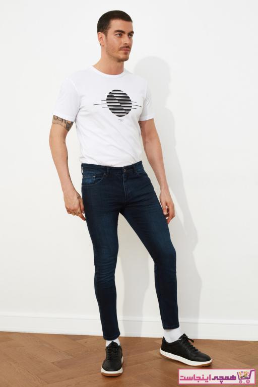شلوار جین مردانه ست مارک ترندیول مرد رنگ لاجوردی کد ty57189858