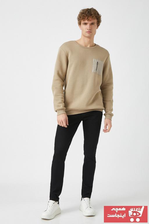 شلوار جین مردانه اسپرت جدید برند کوتون رنگ مشکی کد ty57301105