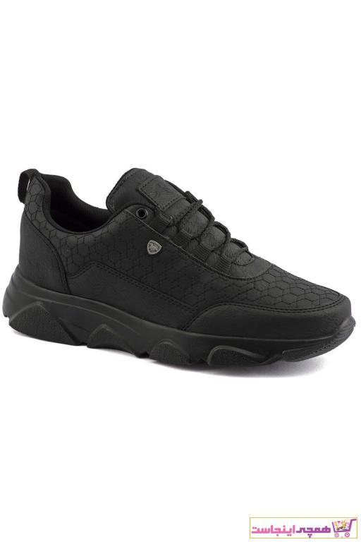 سفارش انلاین کفش اسپرت مردانه ساده برند L.A Polo رنگ مشکی کد ty57469201