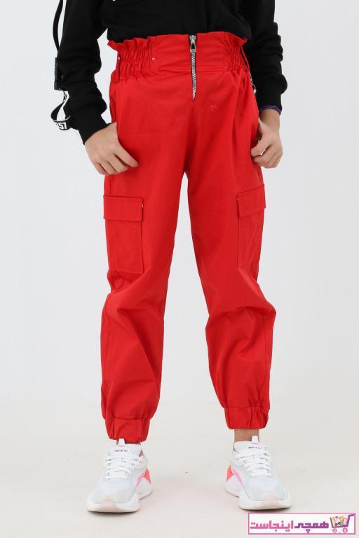 شلوار دخترانه اینترنتی برند Enisena رنگ قرمز ty59076612