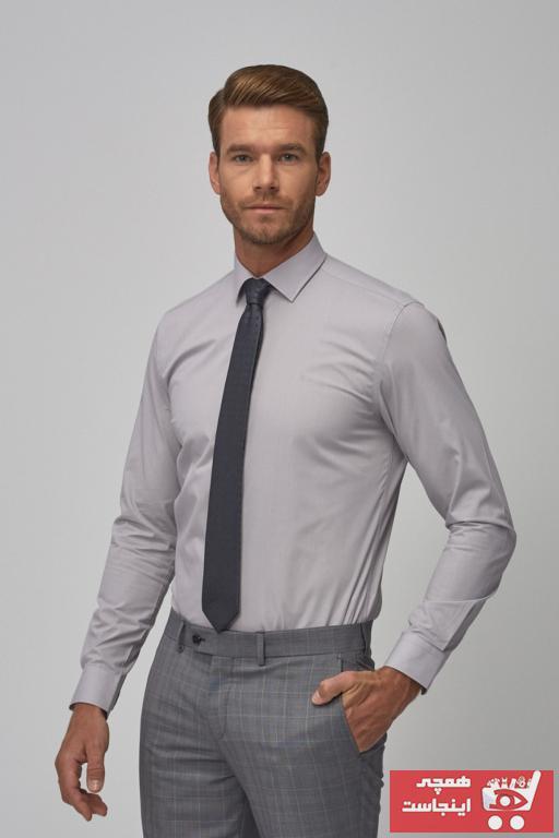 پیراهن مردانه قیمت برند ALTINYILDIZ CLASSICS رنگ نقره ای کد ty5927313