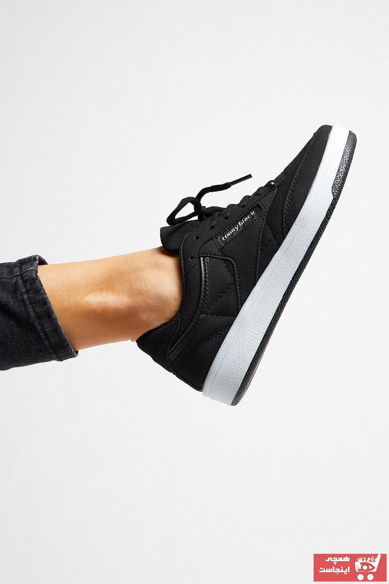 فروشگاه کفش اسپرت مردانه تابستانی مارک تونی بلک رنگ مشکی کد ty6044874
