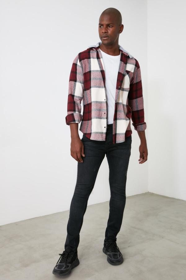شلوار جین مردانه قیمت مارک ترندیول مرد رنگ نقره ای کد ty60739208