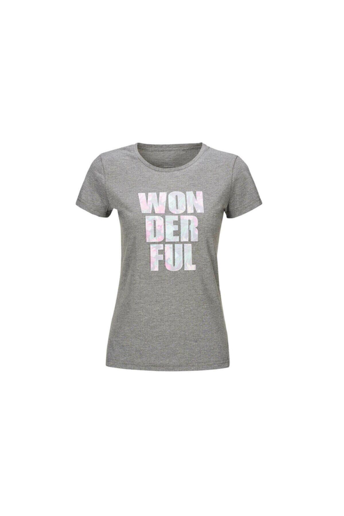 خرید اینترنتی تیشرت شلوار زنانه برند کینتیکس kinetix رنگ نقره ای کد ty6132016