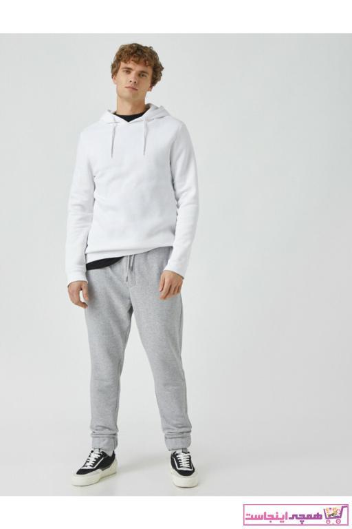 خرید پستی اسلش مردانه برند کوتون رنگ نقره ای کد ty61776727