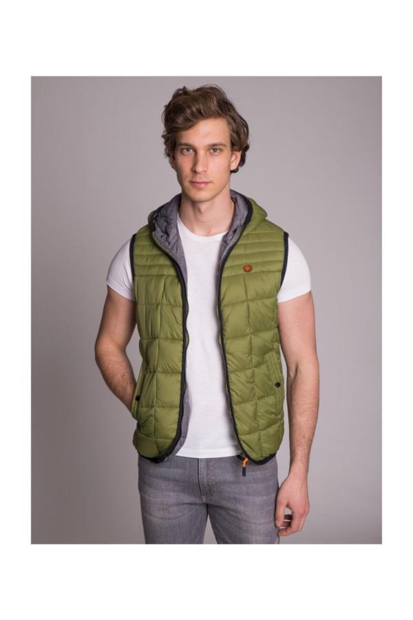 خرید مدل جلیقه مردانه برند Dufy رنگ سبز کد ty6236016