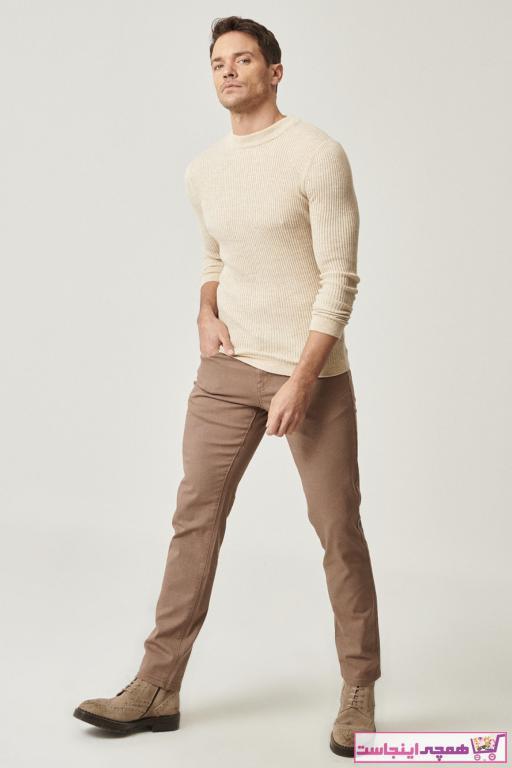شلوار جدید مردانه شیک برند AC&Co رنگ قهوه ای کد ty63006383